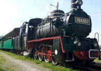 Nostalgic travel with light railway Sovata-Câmpu Cetăţii